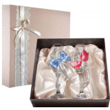 Gift engraved Wedding glasses 9753