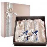 Gift engraved Wedding glasses 9785