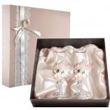 Gift engraved Wedding glasses 9788