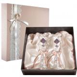 Gift engraved Wedding glasses 9790