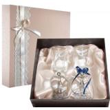 Gift engraved Wedding glasses 9795