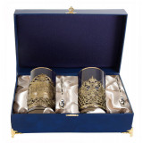 Gift engraved Coasters Sets of Cup holders 10704