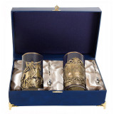 Gift engraved Coasters Sets of Cup holders 10705