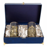 Gift engraved Coasters Sets of Cup holders 10706