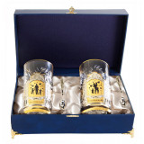 Gift engraved Coasters Sets of Cup holders 10786