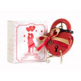 Gift engraved Wedding locks Locks with bow 7,5*5,7...