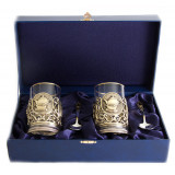 Gift engraved Coasters Sets of Cup holders 12052
