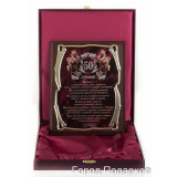 Gift engraved Plaques Plaques for Anniversary in gift box 14162
