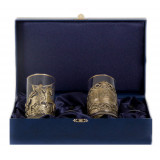 Gift engraved Coasters Sets of Cup holders 15015
