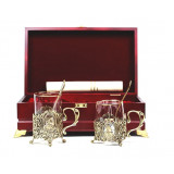 Gift engraved Coasters Sets of Cup holders 15020