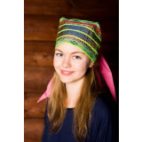 Russian folk costume Golovnoj ubor Soroka 16125
