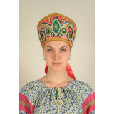 Russian folk costume KOKOSHNIKI Kokoshnik Alexander 16134