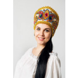 Russian folk costume KOKOSHNIKI Kokoshnik Alexander 16136