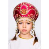 Russian folk costume KOKOSHNIKI Kokoshnik Alina 16140