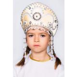 Russian folk costume KOKOSHNIKI Kokoshnik Alina 16141
