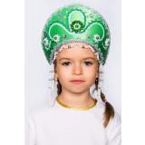 Russian folk costume KOKOSHNIKI Kokoshnik Alina 16142