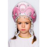 Russian folk costume KOKOSHNIKI Kokoshnik Alina 16145