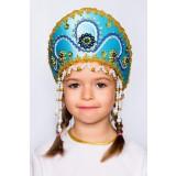 Russian folk costume KOKOSHNIKI Kokoshnik Alina 16146