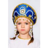 Russian folk costume KOKOSHNIKI Kokoshnik Alina 16148