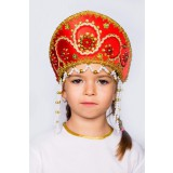 Russian folk costume KOKOSHNIKI Kokoshnik Alina 16149