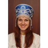 Russian folk costume KOKOSHNIKI Kokoshnik Victoria 16189