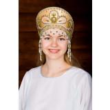 Russian folk costume KOKOSHNIKI Kokoshnik Viktorija 16195