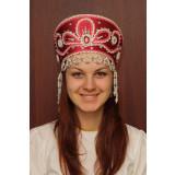 Russian folk costume KOKOSHNIKI Kokoshnik Victoria 16196