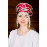 Russian folk costume KOKOSHNIKI Kokoshnik Victoria 16198