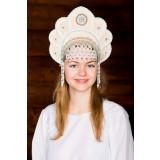 Russian folk costume KOKOSHNIKI Kokoshnik Elena 16201
