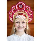 Russian folk costume KOKOSHNIKI Kokoshnik Elena 16203