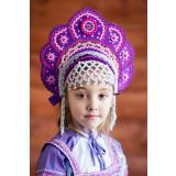 Russian folk costume KOKOSHNIKI Kokoshnik Elena 16205
