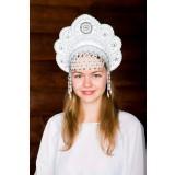 Russian folk costume KOKOSHNIKI Kokoshnik Elena 16212