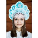 Russian folk costume KOKOSHNIKI Kokoshnik Elena 16214