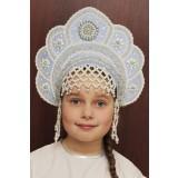 Russian folk costume KOKOSHNIKI Kokoshnik Elena 16216