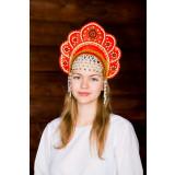 Russian folk costume KOKOSHNIKI Kokoshnik Elena 16220