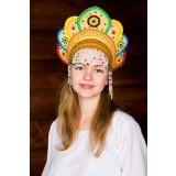 Russian folk costume KOKOSHNIKI Kokoshnik Elena 16222