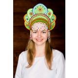 Russian folk costume KOKOSHNIKI Kokoshnik Elena 16223