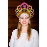 Russian folk costume KOKOSHNIKI Kokoshnik Elena 16224