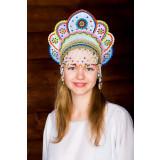 Russian folk costume KOKOSHNIKI Kokoshnik Elena 16225