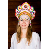 Russian folk costume KOKOSHNIKI Kokoshnik Elena 16227