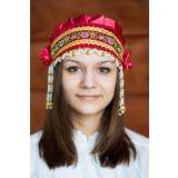 Russian folk costume KOKOSHNIKI Kokoshnik Inna 16229