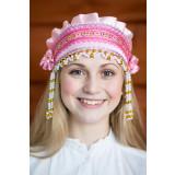Russian folk costume KOKOSHNIKI Kokoshnik Inna 16234