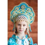 Russian folk costume KOKOSHNIKI Kokoshnik Larisa 16240