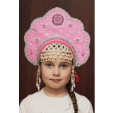 Russian folk costume KOKOSHNIKI Kokoshnik Larisa 16241