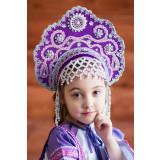 Russian folk costume KOKOSHNIKI Kokoshnik Larisa 16242