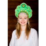 Russian folk costume KOKOSHNIKI Kokoshnik Larisa 16243