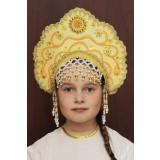 Russian folk costume KOKOSHNIKI Kokoshnik Larisa 16244
