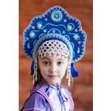Russian folk costume KOKOSHNIKI Kokoshnik Larisa 16246