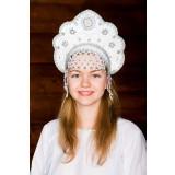 Russian folk costume KOKOSHNIKS Larissa Kokoshnik 16247