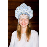 Russian folk costume KOKOSHNIKS Larissa Kokoshnik 16249